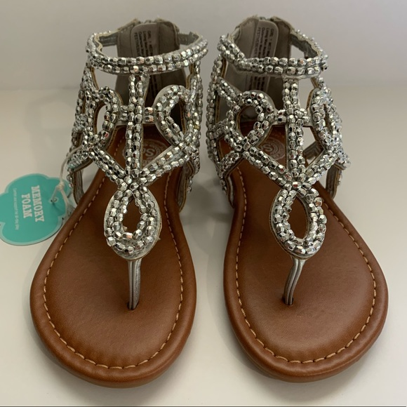 SO Other - Girls silver sandals